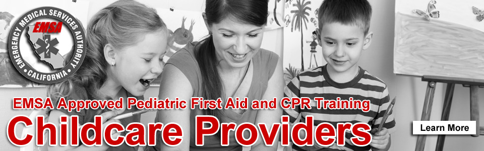 EMSA Childcare First Aid and CPR Training