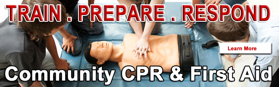 CPR and First Aid Classes for the Community