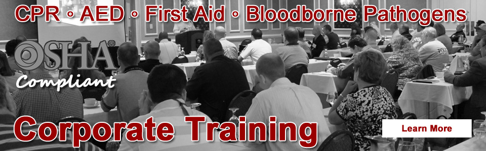 Corporate CPR and First Aid Training