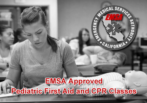EMSA Pediatric First Aid CPR